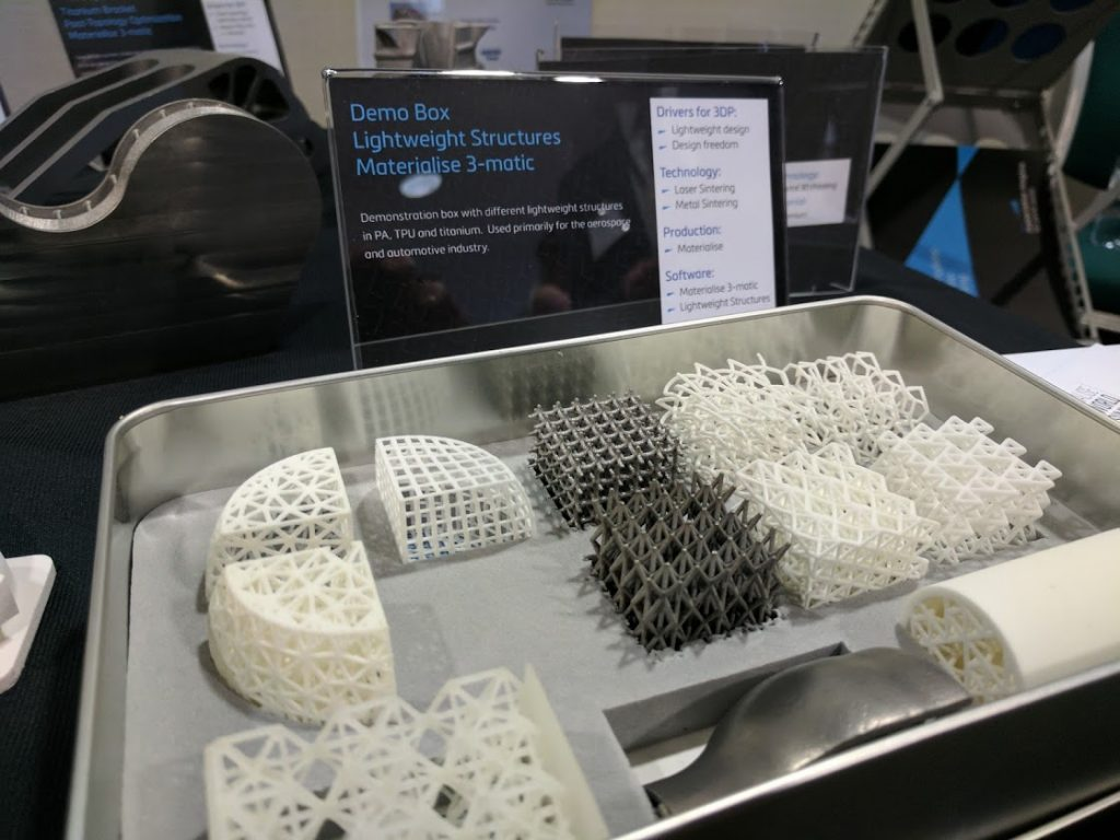 Materialise 3-matic demo box. Photo by Michael Petch.
