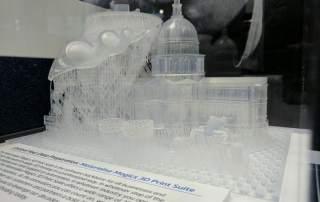 Materialise Magics 3D Print suite software. Photo by Michael Petch.