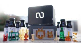 ONO 3D printer and resins. Photo via ONO.