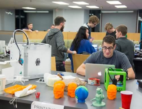 Printathon: University of Brandeis, Massachusetts presents a 3D printing hackathon
