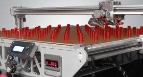 Large scale batch production of cylinders on the 3D Platform Workbench Photo via: 3DPlatform.com
