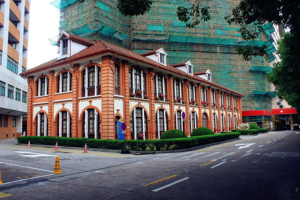 Ruijin Hospital in Shanghai Photo by Wikimedia Commons contributor Legolas1024