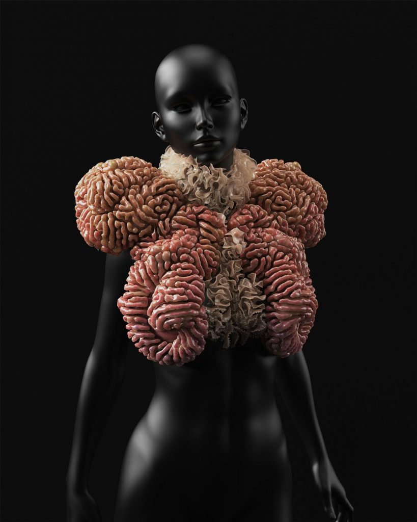 AL QAMAR by Neri Oxman. Photo via: Stratasys