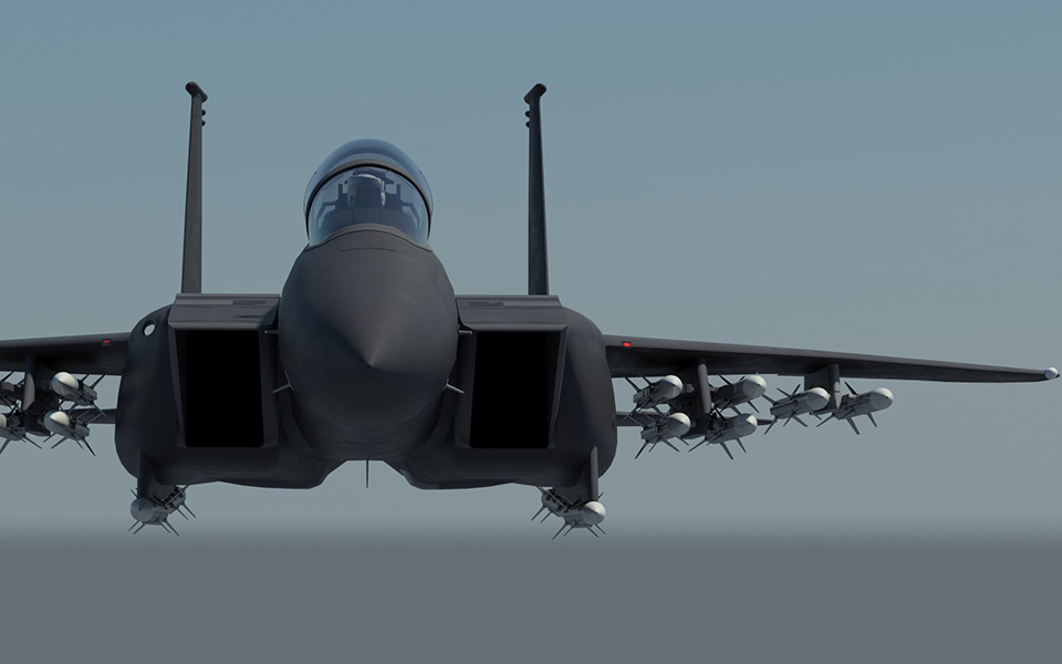 The F-15. Photo via Boeing.