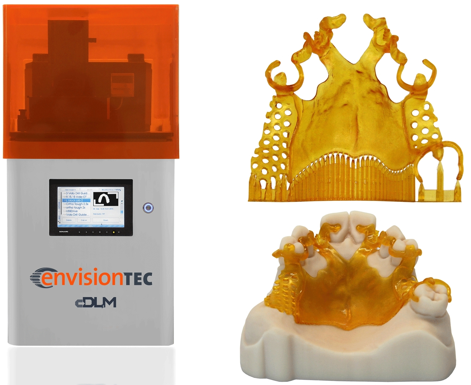 The Vida cDLM 3D printer. Image via EnvisionTec.