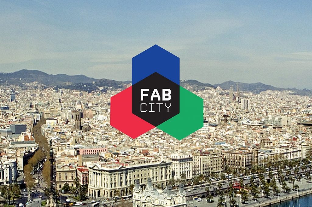 One of the strategy's proposed resolutions is to connect Fab Labs across Europe, as seen in the Fab City movement from Barcelona. Image via FabLab.BCN on Facebook
