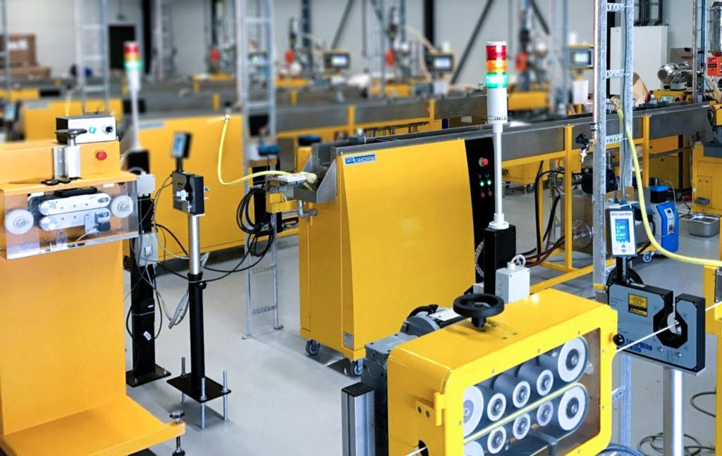 The filament production area. Photo via ColorFabb.