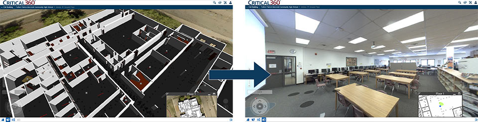 A Critical 360 3D scan by EagleView Technologies. Image via: eagleview.com
