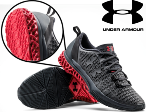 Under Armour utilized the PUSh process method for their UA Architech range. Image via PUSh process.
