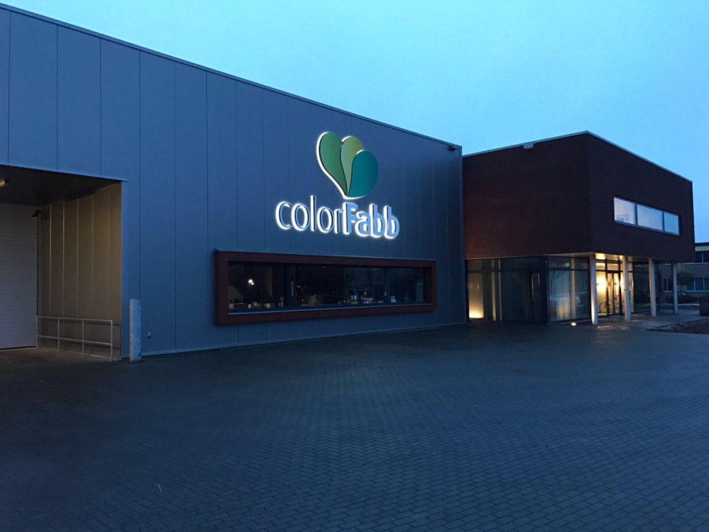The new headquarters. Photo via ColorFabb.
