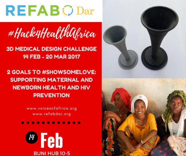 The ReFab Dar design challenge. Image via ReFab Dar.