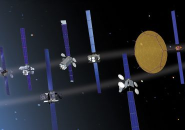 Boeing's satellite family. Image via Boeing.