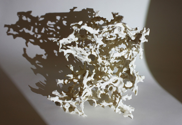 3D printed dark matter. Photo via Benedikt Diemer.