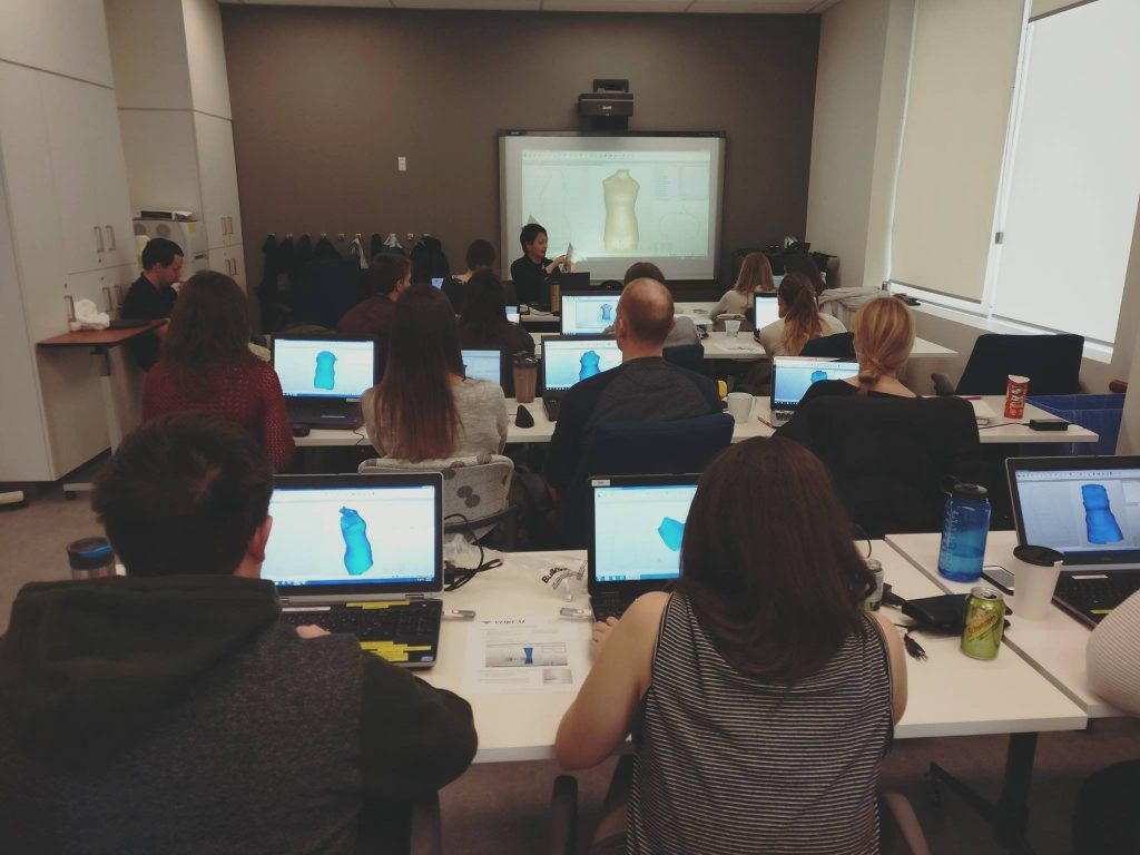 A software training session for clinicians. Photo via Vorum