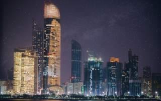 The Abu Dhabi skyline. Photo by Leonid Yaitskiy on Flickr.
