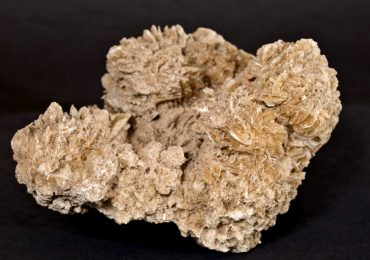 The crystal formation referred to as a Desert Rose. Photo by Hadley Paul Garland on flickr.
