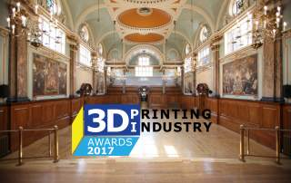 3D Printing Industry Awards at Chelsea Old Town Hall.