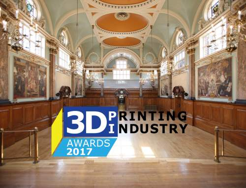 Tickets now available for the 3D Printing Industry Awards 2017