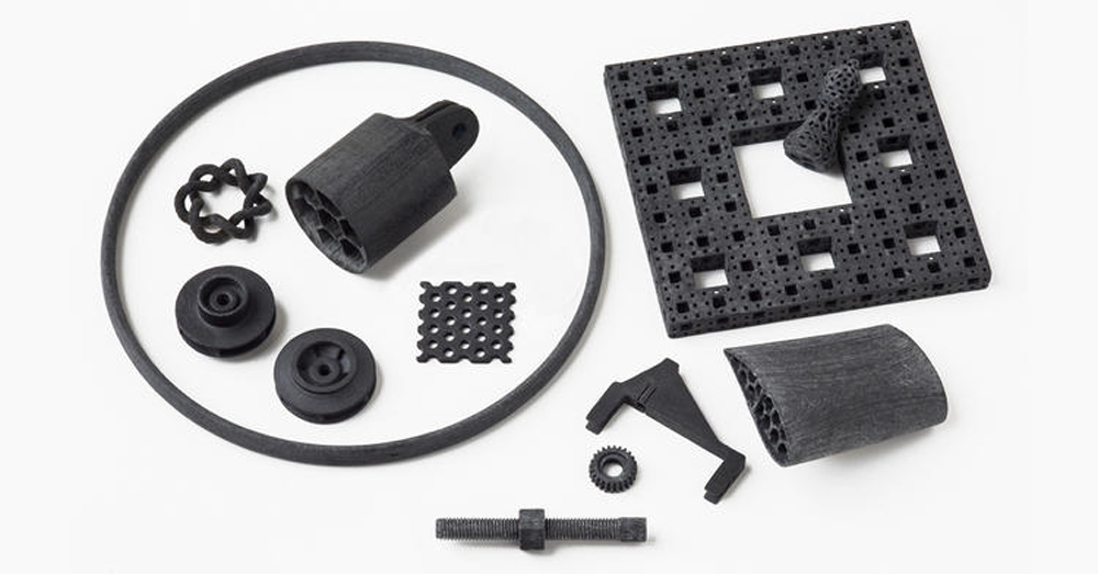 Some Impossible Objects CBAM parts. Image via Impossible Objects.