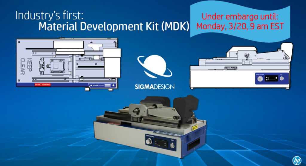 3D printing industry first Material Development Kit.