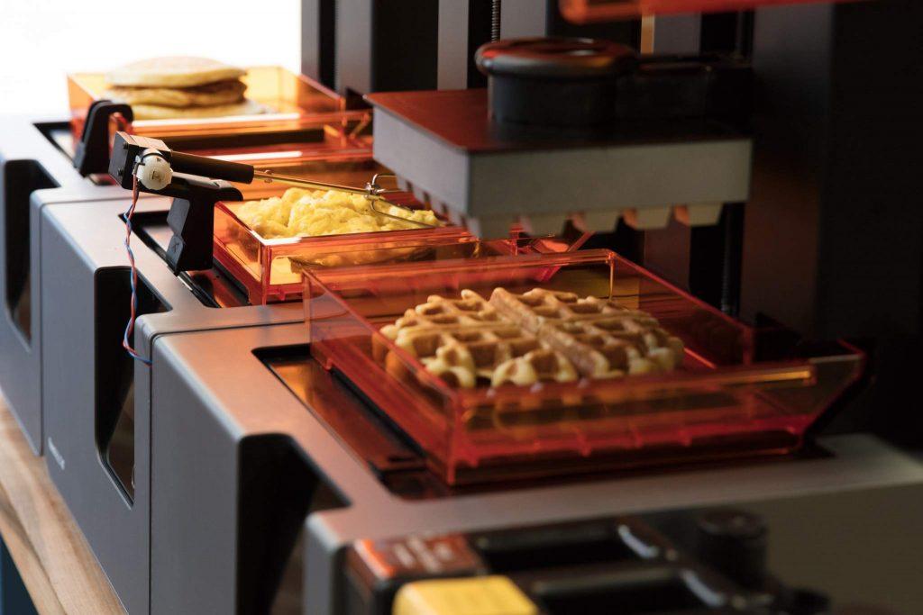 The Form 2 Waffle Platform.