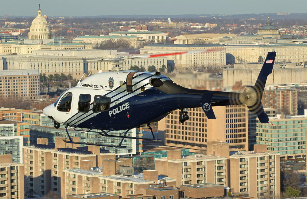 A Fairfax County Police Department Bell 429. Photo via Bell Helicopter