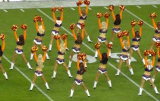 Broncos Cheerleaders photo by Daniel Spiess, via: fermentarium.com
