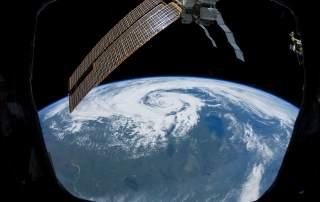 Non-Tropical Cyclone Over northern Saskatchewan, Canada. Image via NASA/JSC.