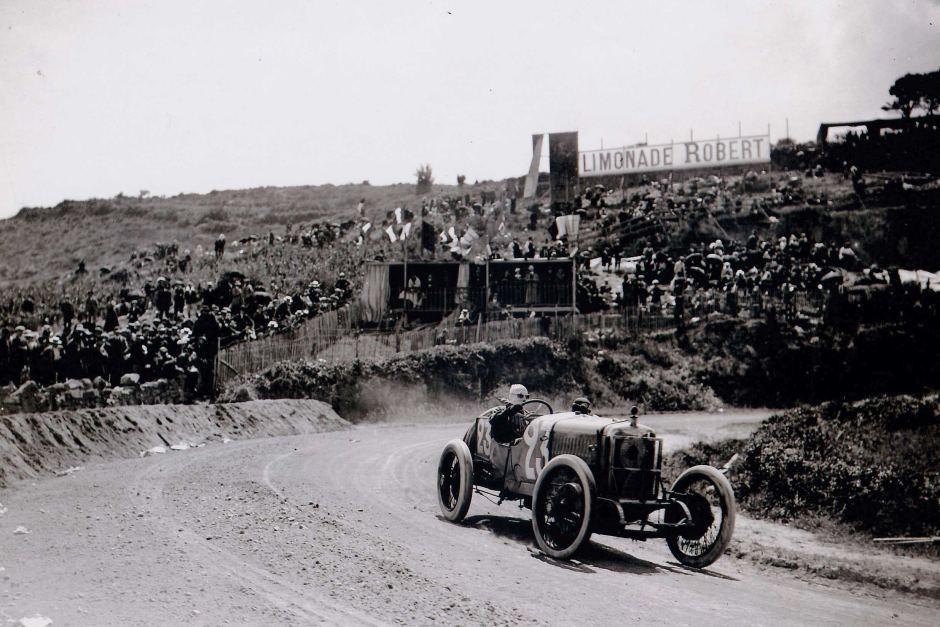 The Type-S during its last race in Lyon in 1914. Photo via Philip Guilfoyle.