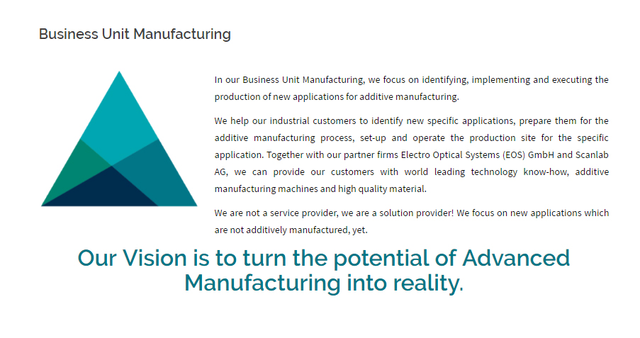 AMW's vision for accelerating additive manufacturing.