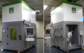The Magic 2.0 5 axis machine. Photos via BeAM Machines