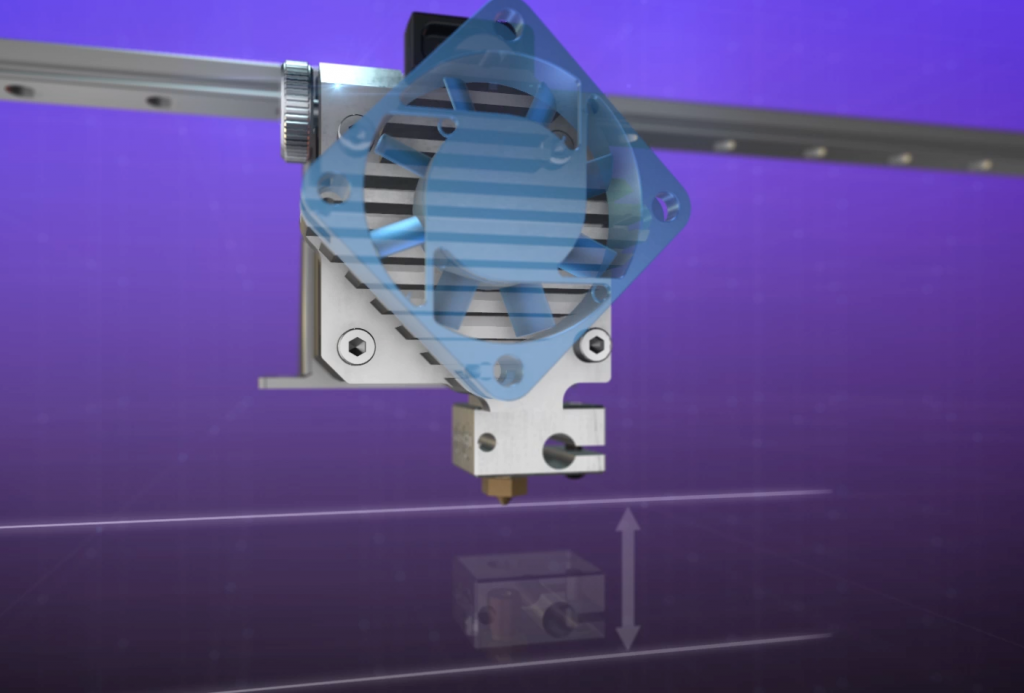 Titan Aero Z height gain. Image via E3D-Online.