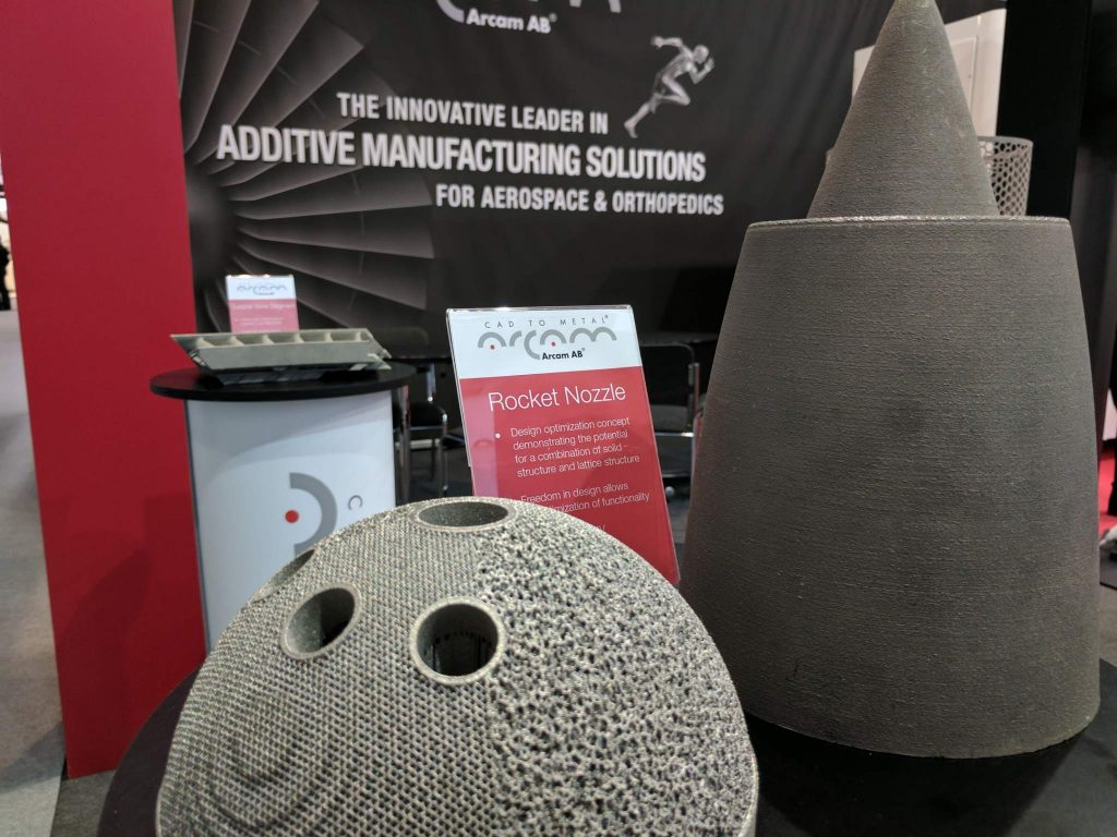 Arcam AB metal additive manufacturing. Photo by Michael Petch.