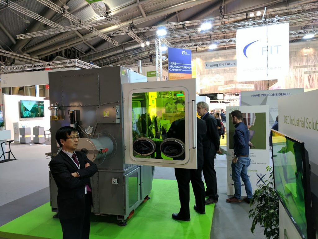 BeAM during Formnext 2016. Photo by Michael Petch.