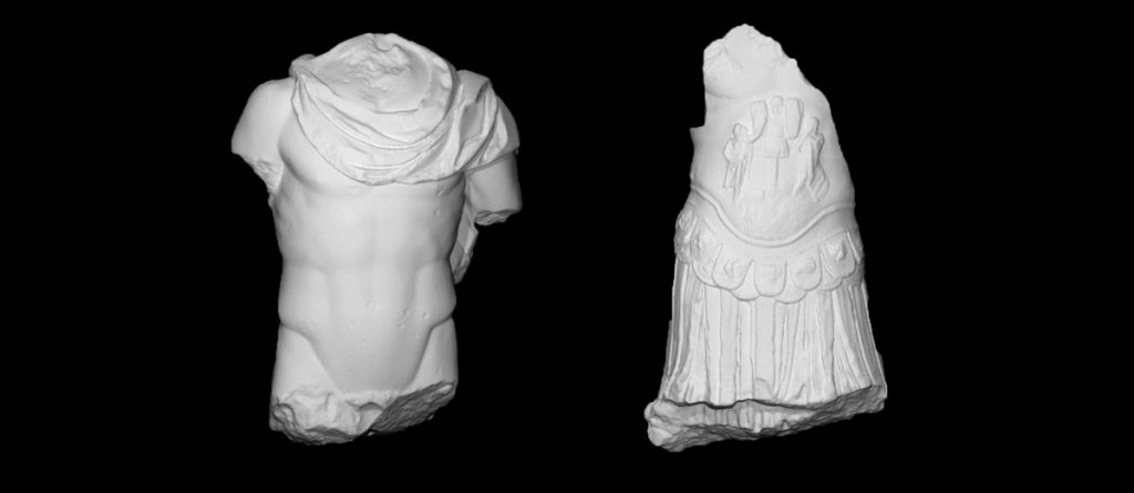 3D models of scanned objects from Christian Levett's collection of antiquities. Image via Scan_The_World on Twitter