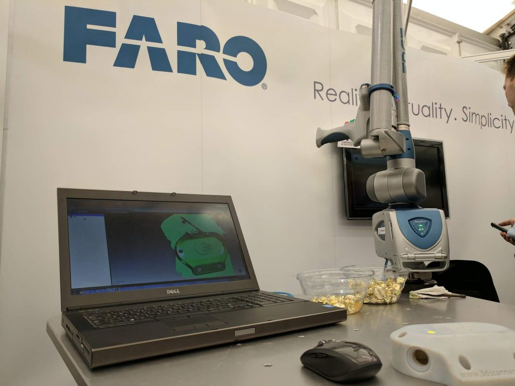 Faro at the Southern Manufacturing Conference. Photo by Michael Petch.