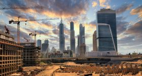 Construction in Dubai. Image via Emirates Rebar Limited.