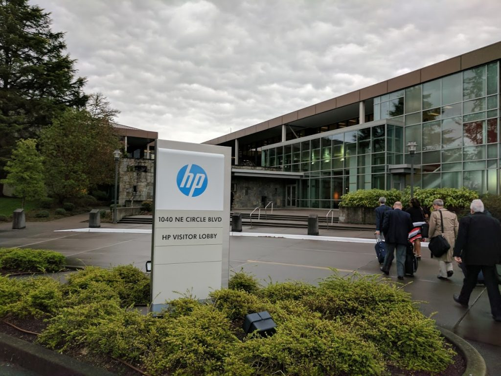 HP's Corvallis Oregon site where R&D into 3D printing materials takes place. Photo by Michael Petch.