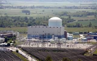 The Krško nuclear power plant in Slovenia. Photo via Siemens.