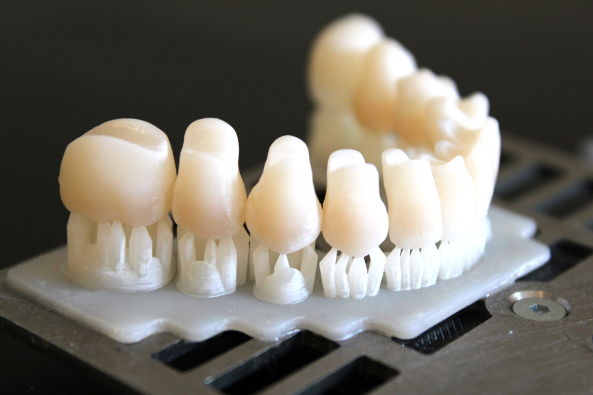 With the Dreve materials, EXIGO is clearly intended for Dental application. Photo via Coobx.