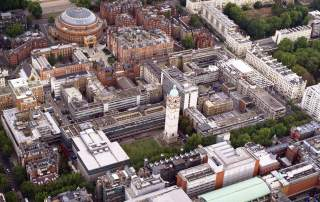 Imperial's South Kensington campus. Photo via Imperial College London.