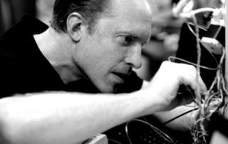 Joshua-Pearce fixing a RepRap 3dprinter