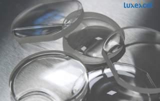 Luxexcel 3D printed lenses. Image via Luxexcel.
