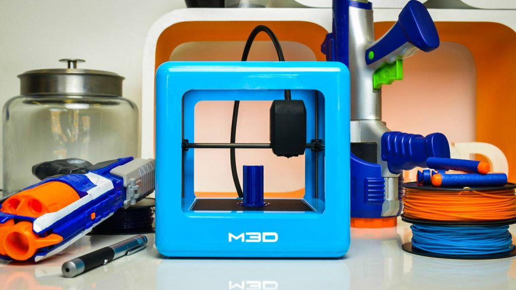 An M3D printer like the one used in this study. Photo via Micro3DPrinter on Facebook