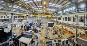 Inside the MTC, a member of ASTM's Additive Manufacturing Center of Excellence. Photo via MTC