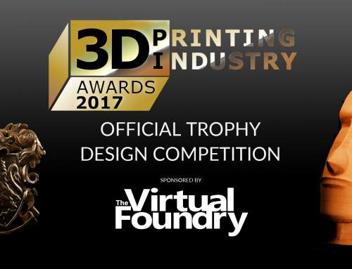 The Virtual Foundry 3D design competition for the 3D Printing Industry Awards