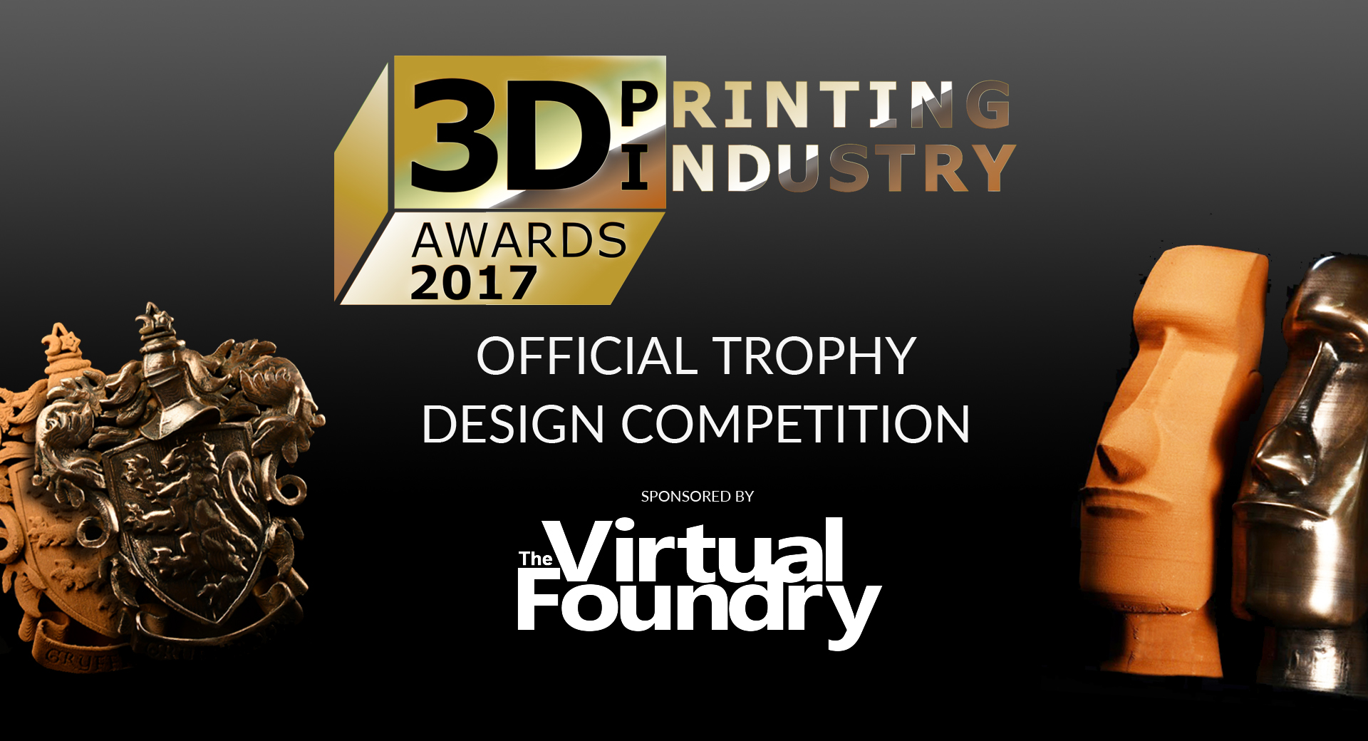 The 3D Printing Industry Awards design competition.