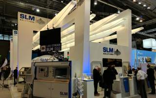 SLM Solutions at Formnext 2016. Photo by Michael Petch.