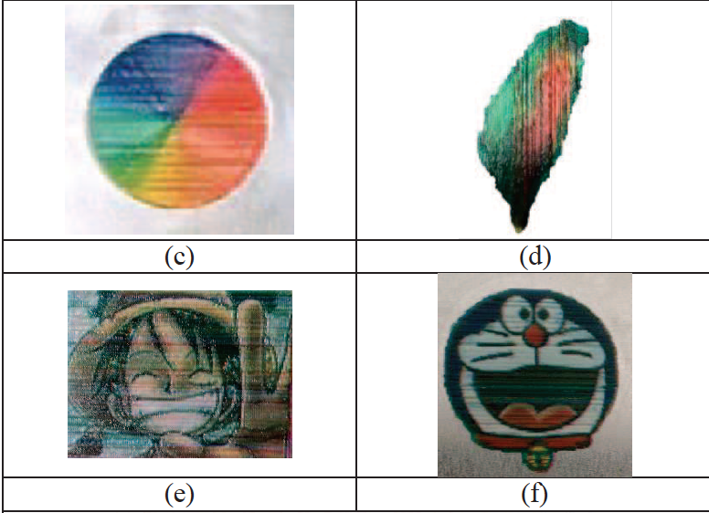 3D images 3D printed in layers at Taiwan Tech. Figure via M. J. Tsai, Y. S. Hsu, Y. L. Cheng, F. Chen and C. H. Chang