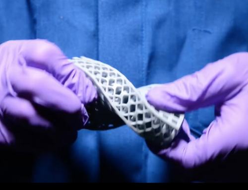 3D printing puts theoretical mathematics into practice to produce hyperelastic metamaterials